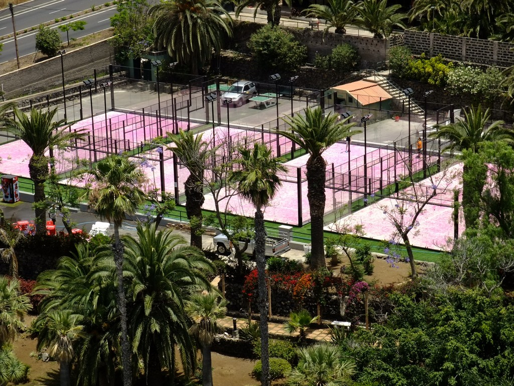 Our padel courts